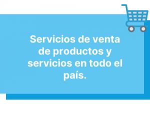 de productos y servicios