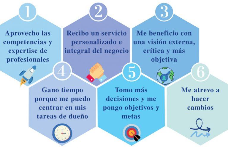 6 ventajas
